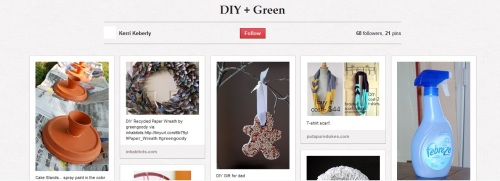Pinterest Green DIY
